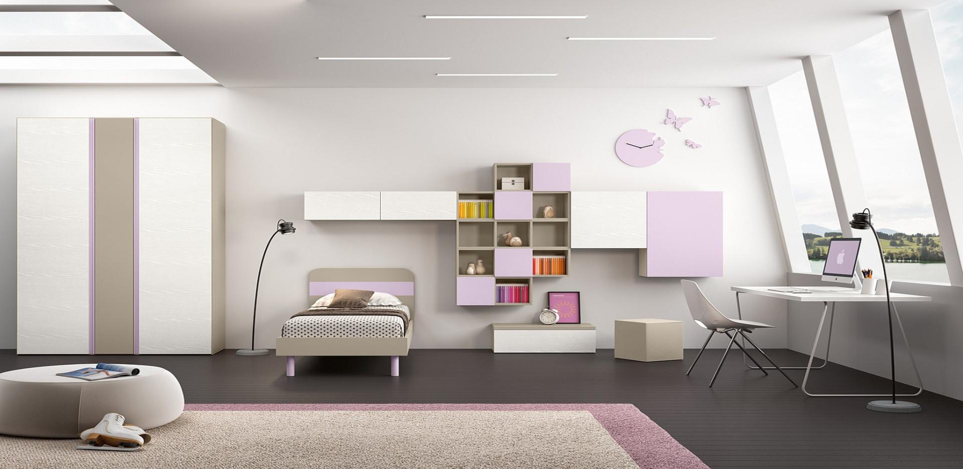 Camerette panatta arredamenti roma mobili e interior for Damiano arredamenti